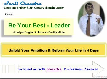 Be Your Best - Leader (4 Days Training Program)