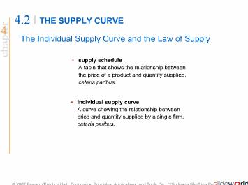 Demand and Supply and Market Equlibrium