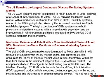 Continuous Glucose Monitoring Systems 
