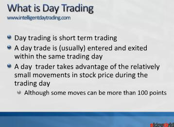 Stock Day Trading Essentials