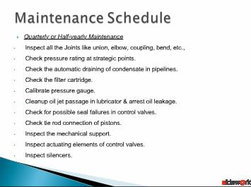Maintenance of fluid power systems