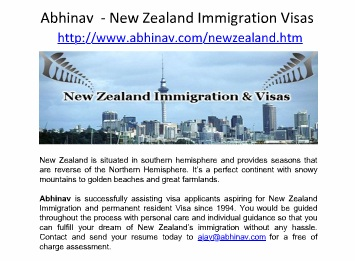 Abhinav is a leading Visa and Immigration Company
