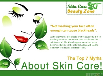 The Top 7 Myths About Skin Care