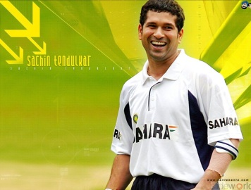 sachin  tendulkar satish and ashray
