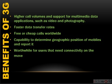 3G technology ppt