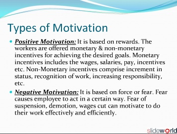 motivational factors in private enterprises