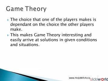 Game Theory – Cutting a Cake at HelpWithAssignment.com