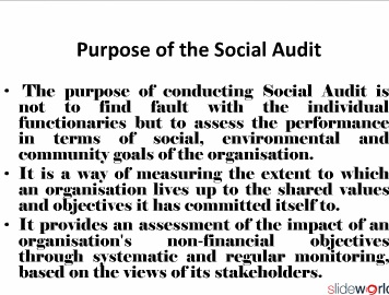 Social Audit