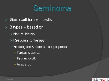 Testicular Tumors