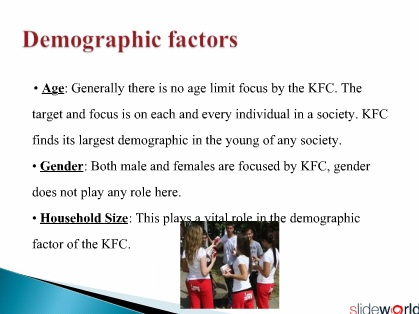 marketing mix of KFC