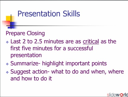  Presentation Skills