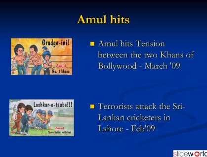 AMUL -Evolution Of Marketing Strategy