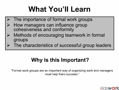 Understanding workgroup