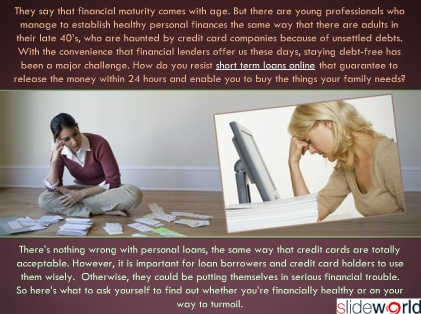 Short Term Loan Tips How Do You Know That You
