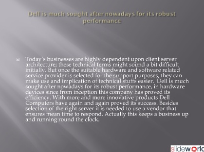 Specialised Dell, Dell Supplier, Dell Laptops for best practise