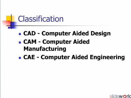 Introduction to CADD