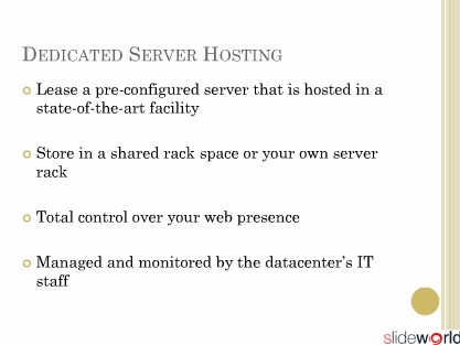 Colocation  Dedicated Servers