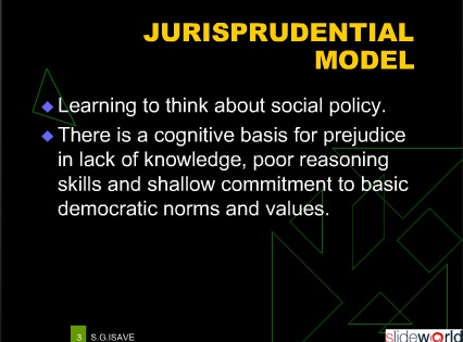 Jurisprudential Model of Teaching