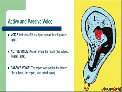 voices-active and passive