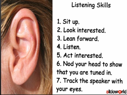 LISTENING SKILLS