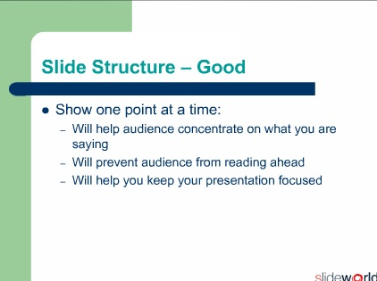 How to make effective Powerpoint Slides