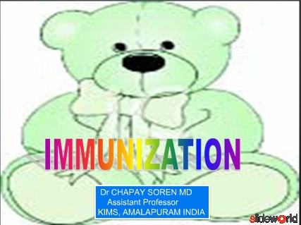 IMMUNIZATION IN CHILDREN INDIA