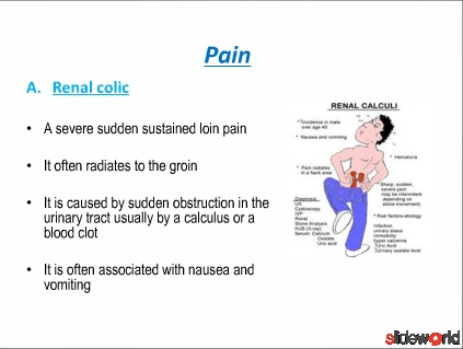 clinical manifeastations of renal disease