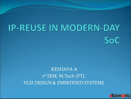 IP Reuse in Modern-day SoC