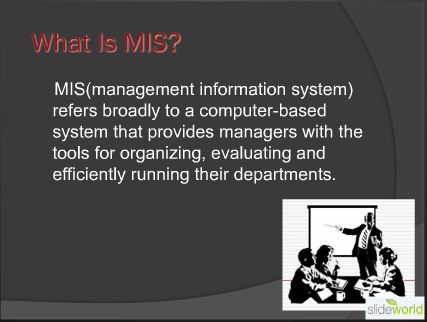 role of mis in decision making