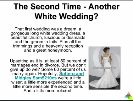 The Second Time - Another White Wedding