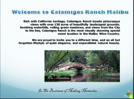 Malibu Conference Center at Calamigos Ranch