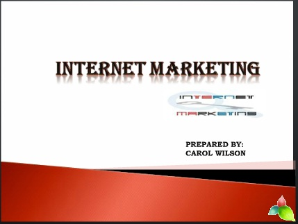 Internet Maketing-Key Tool to gain traffic