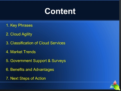 Agility Cloud Computing
