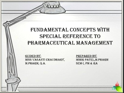 Fundamental Concept of Management