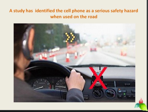 mobile phone and road safety