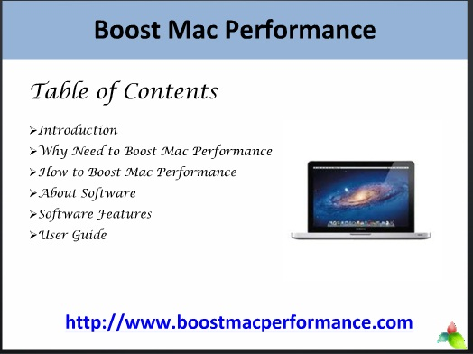 Boost Mac Performance