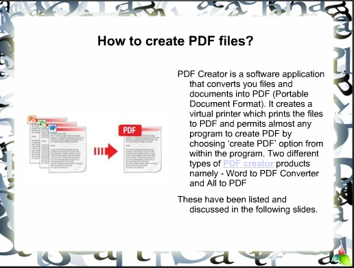 How to Create PDF Files?