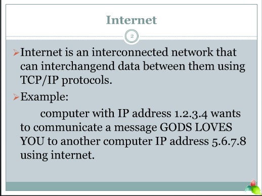 function of internet