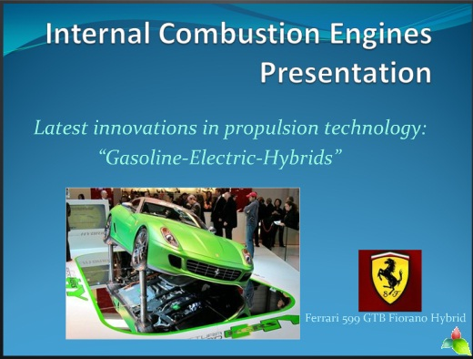 Gasoline Electric Hybrid