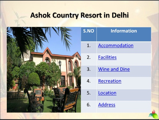 list of four star hotels in delhi