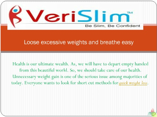 be slim and enjoy a healthy living