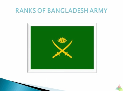 Ranks of Bangladesh Army