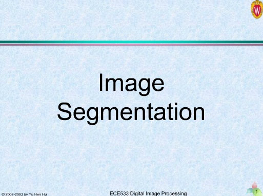 segmentation