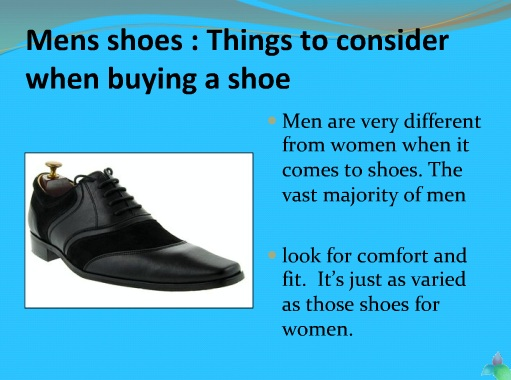Mens shoes Things to consider when buying a shoe | custom footwear   