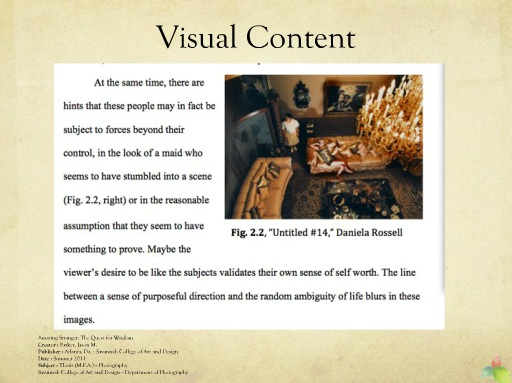 Writing Lessons Citing and Visual Content