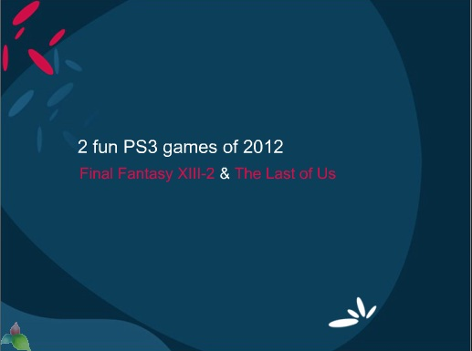 2 fun PS3 games of 2012