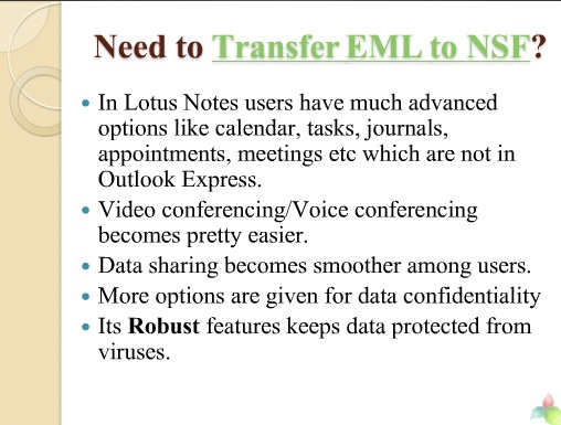 outlook express to lotus notes