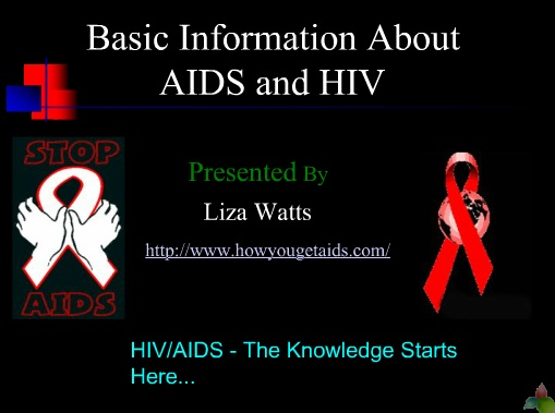 Basic Information about hiv and aids Ppt Powerpoint Presentations
