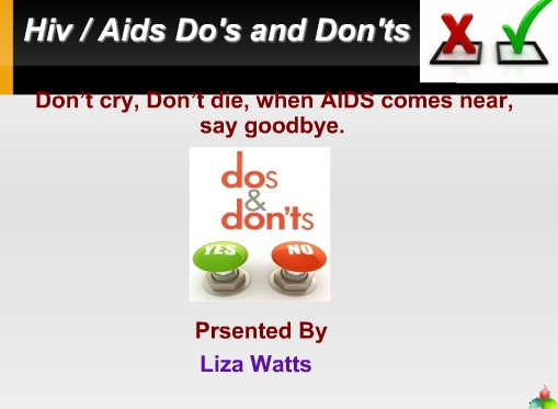Hiv-Aids Do