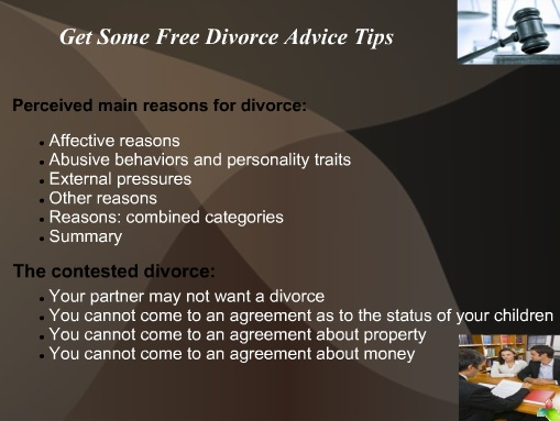 Get Free Divorce Advice Tips